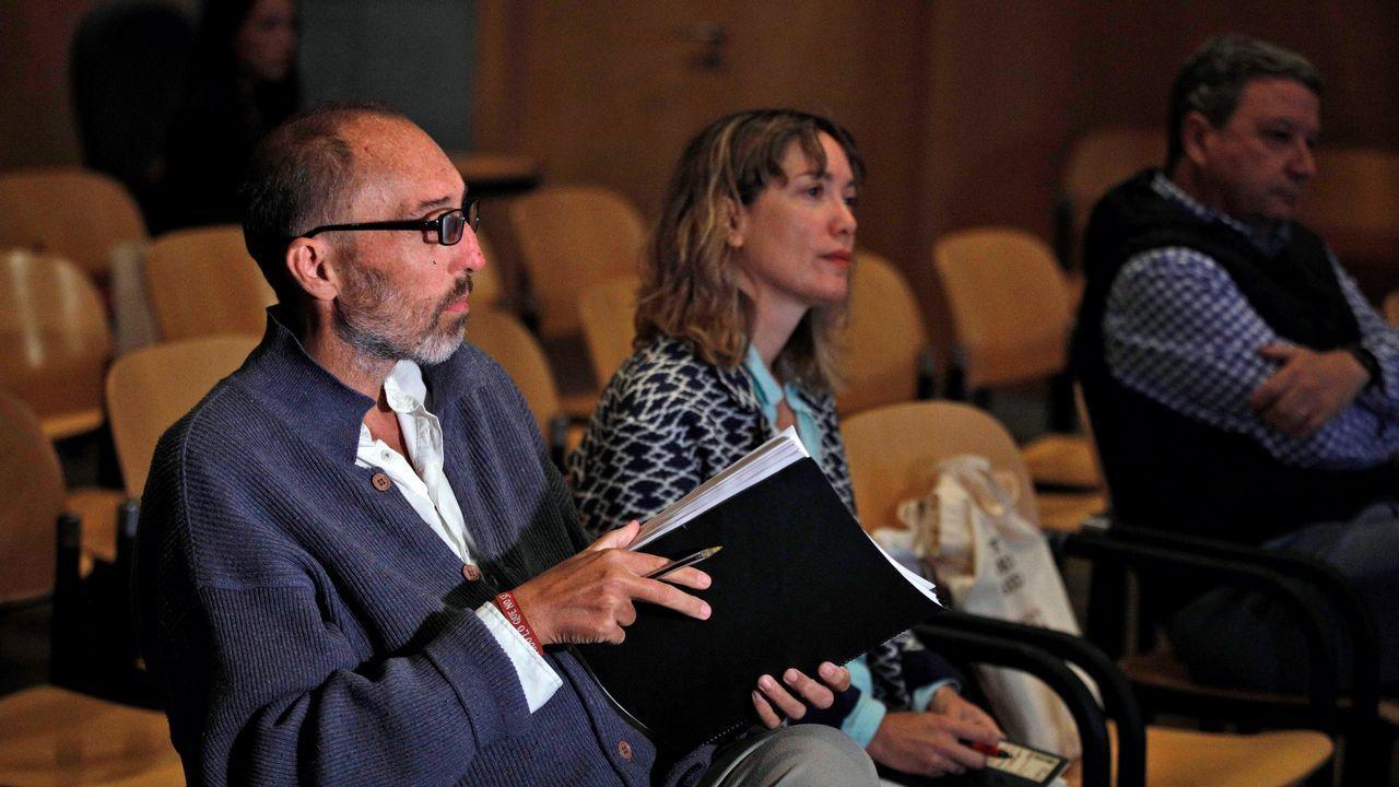La Sección Tercera de la Audiencia Provincial acoge hoy la lectura de los informes relativos al juicio por el caso Niemeyer, en torno a las presuntas irregularidades contables en la etapa de Natalio Grueso (i) como director general del complejo cultural avilesino.