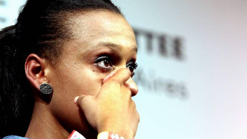 Así habló en inglés Ana Botella ante el COI.Lágrimas de la gallega Ana Peleteiro tras la decisión del COI