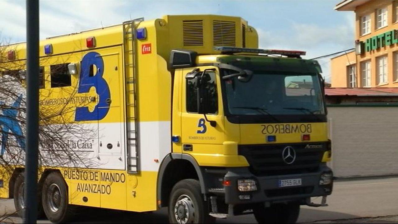 Camion de bomberos del Sepa