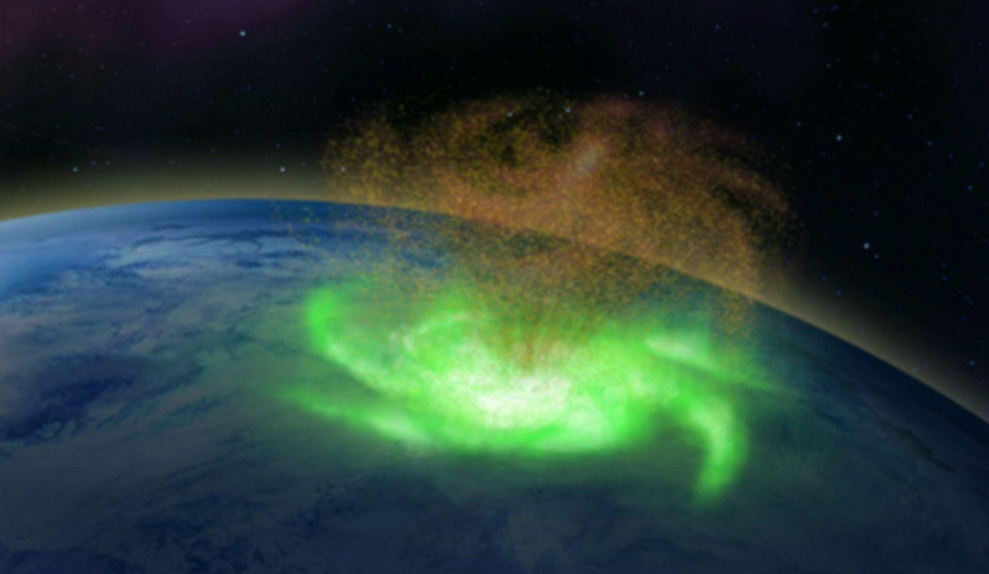 Recreación del planeta Gliese 486b