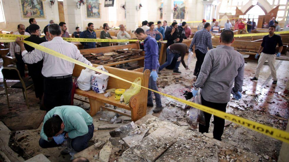 Doble atentado del Estado Islámico contra iglesias de Egipto