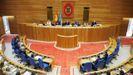 El pleno del Parlamento de Galicia aprobó hace unos meses otra iniciativa a favor del gallego