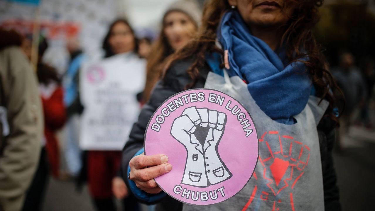 La alcaldesa de Gijón, Ana González, presenta la campaña de Gijón para el 25-N