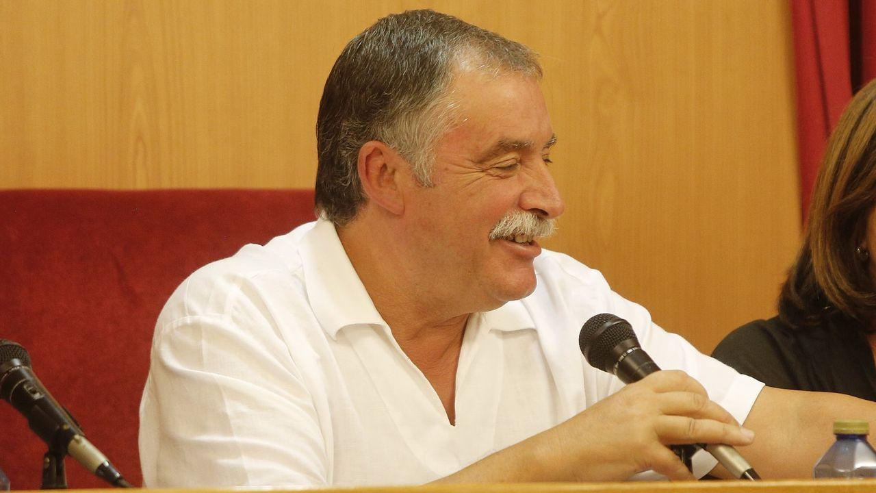 Ángel García Seoane. Alcalde. Su dedicación exclusiva aumenta a los 56.743 euros