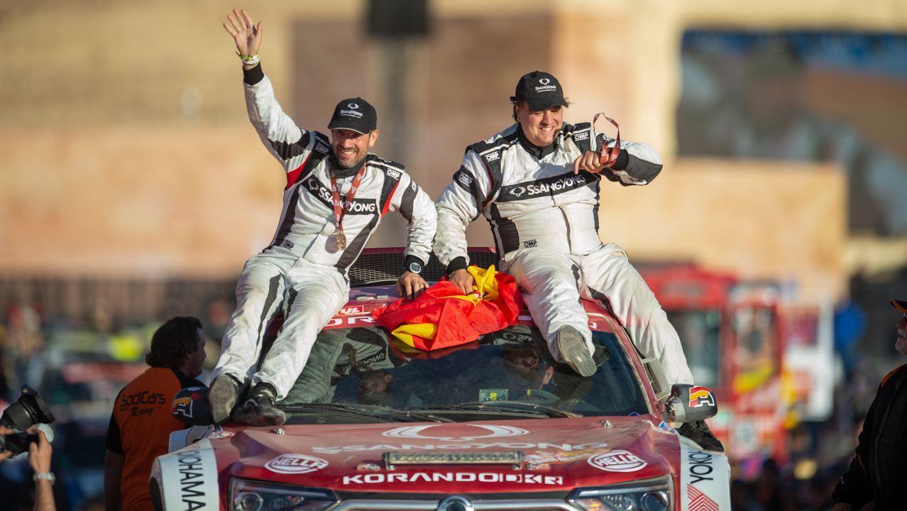 Así fue el Dakar 2020 a través del objetivo del poleso Charly López.Fernando Alonso en el Gran Premio de Estados Unidos 2018