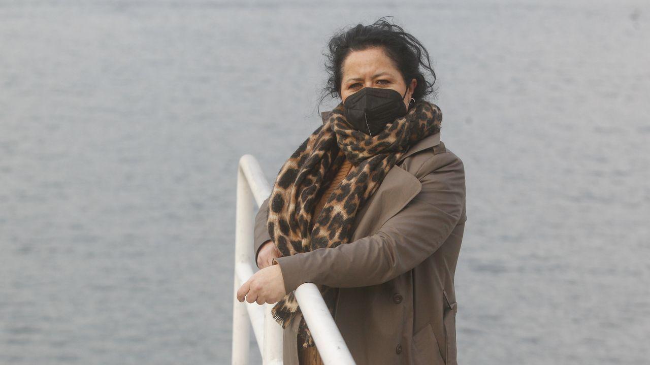 El balance de once sanitarios cuando se cumple un año de la llegada del covid a Ferrol.Beatriz Fernández Miño, enferma de fibromialgia