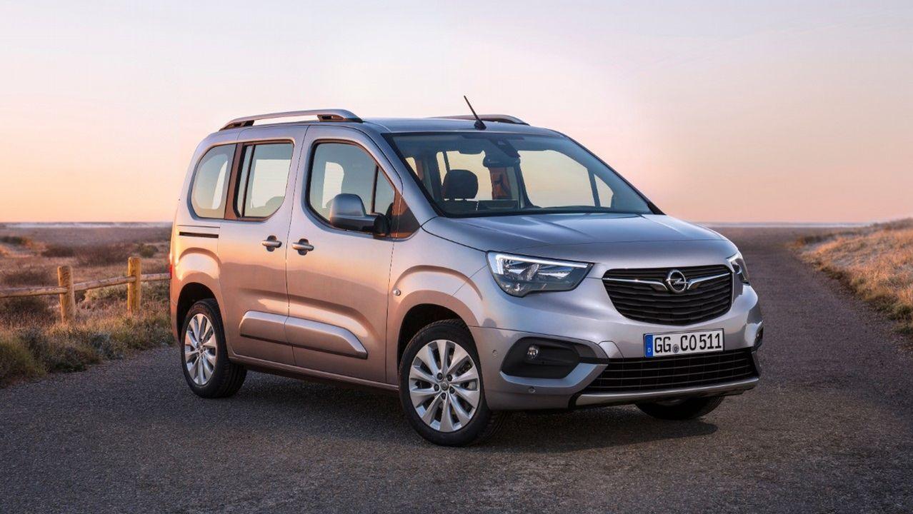 Opel Combo Life, primer coche de la marca que se fabrica en Vigo