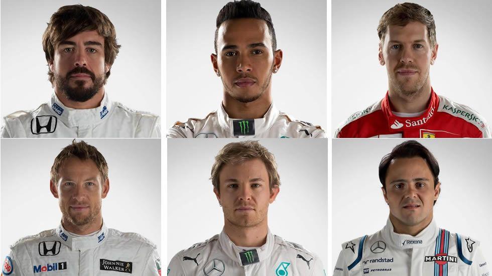 Las 22 caras de la Fórmula 1