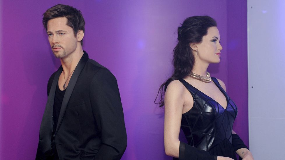 Rodaje en Galicia con las dos mayores celebridades asiáticas.Brad Pitt y Angelina Jolie de cera, en el museo de Berlín