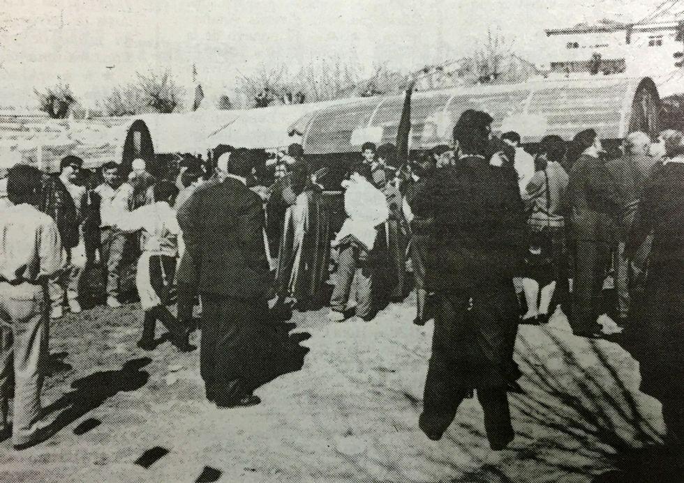 Público en la Feira do Viño de Chantada de 1991