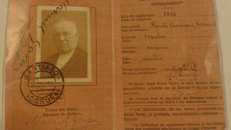 EL PRIMERO. Manuel García fue el primero de la familia que repartió el correo