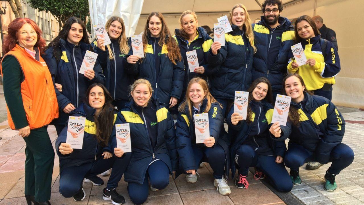 Premios Grelo de Ouro.Presentación de la campaña de donantes de médula, en Oviedo