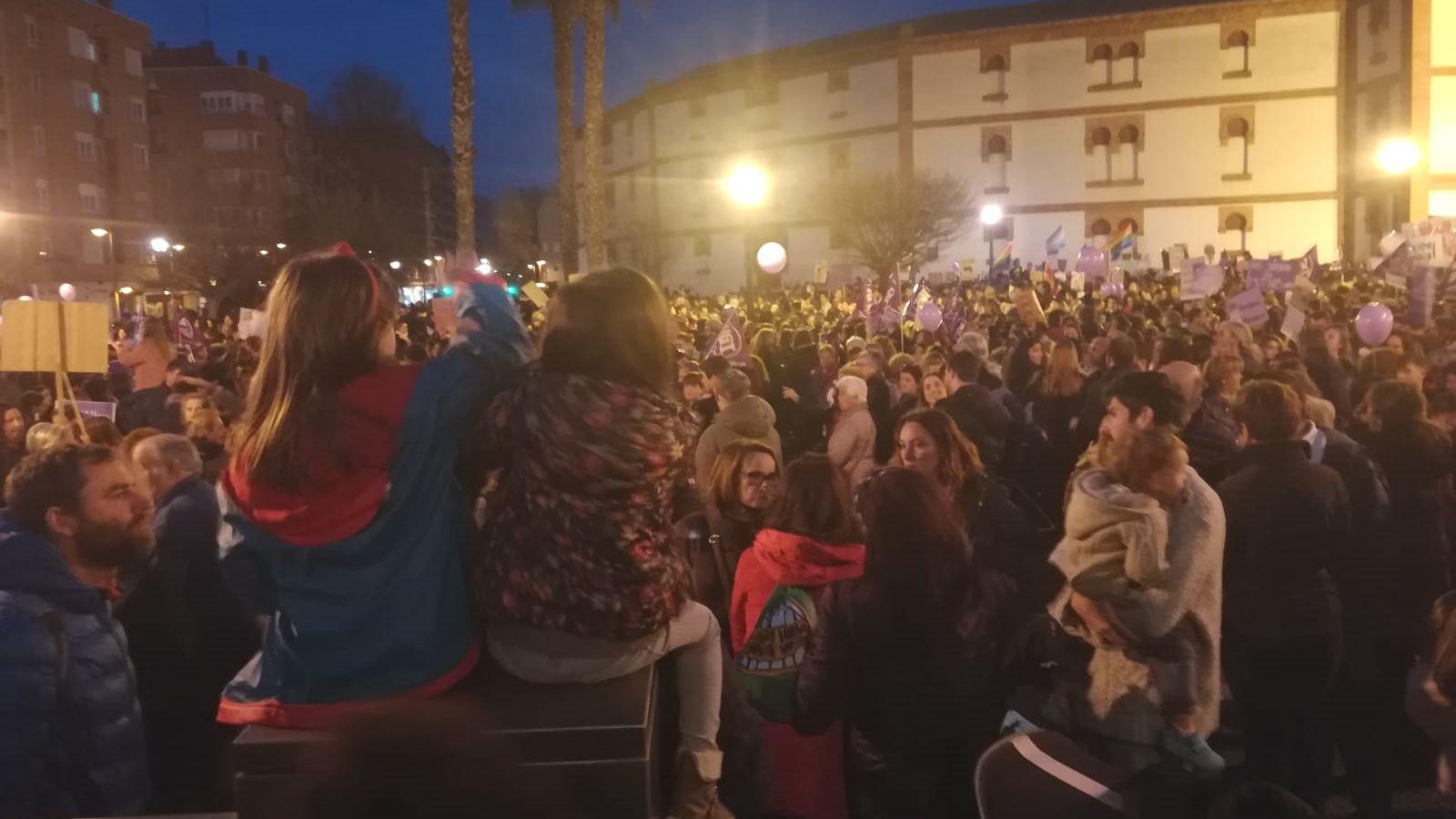 Manifestación del 8-M en Gijón