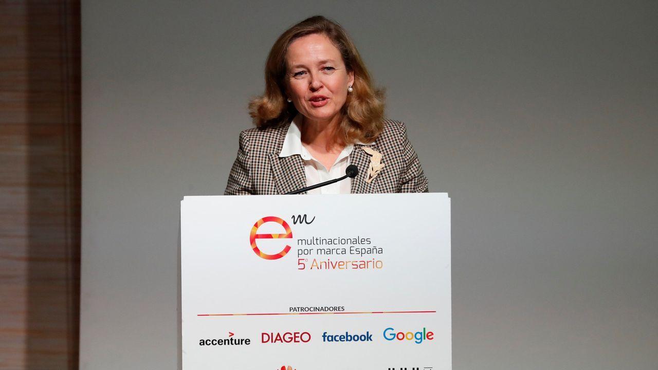 La ministra de Economia, Nadia Calviño