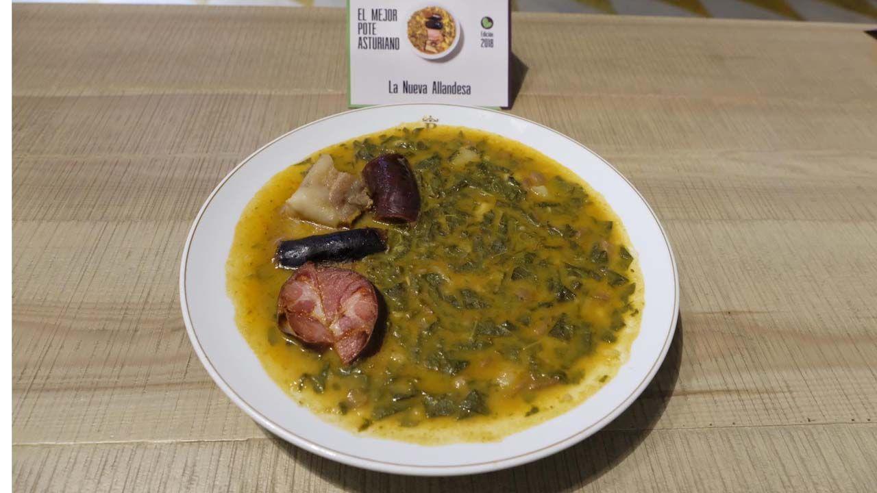 Mejor pote asturiano 2018