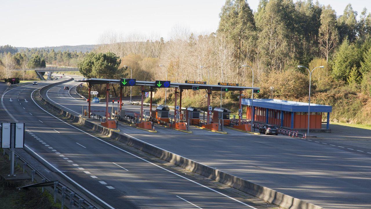 Peaje autopista AG-55 A Coruña-Carballo