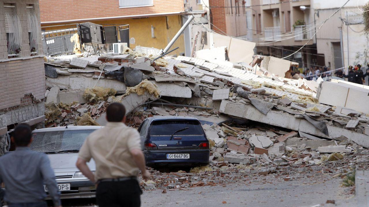Daños provocados en el 2011 en Lorca