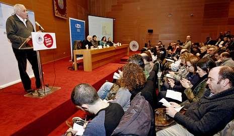 Cierre de la campaña en Galicia.El BNG celebró en Pontevedra una jornada sobre Europa.