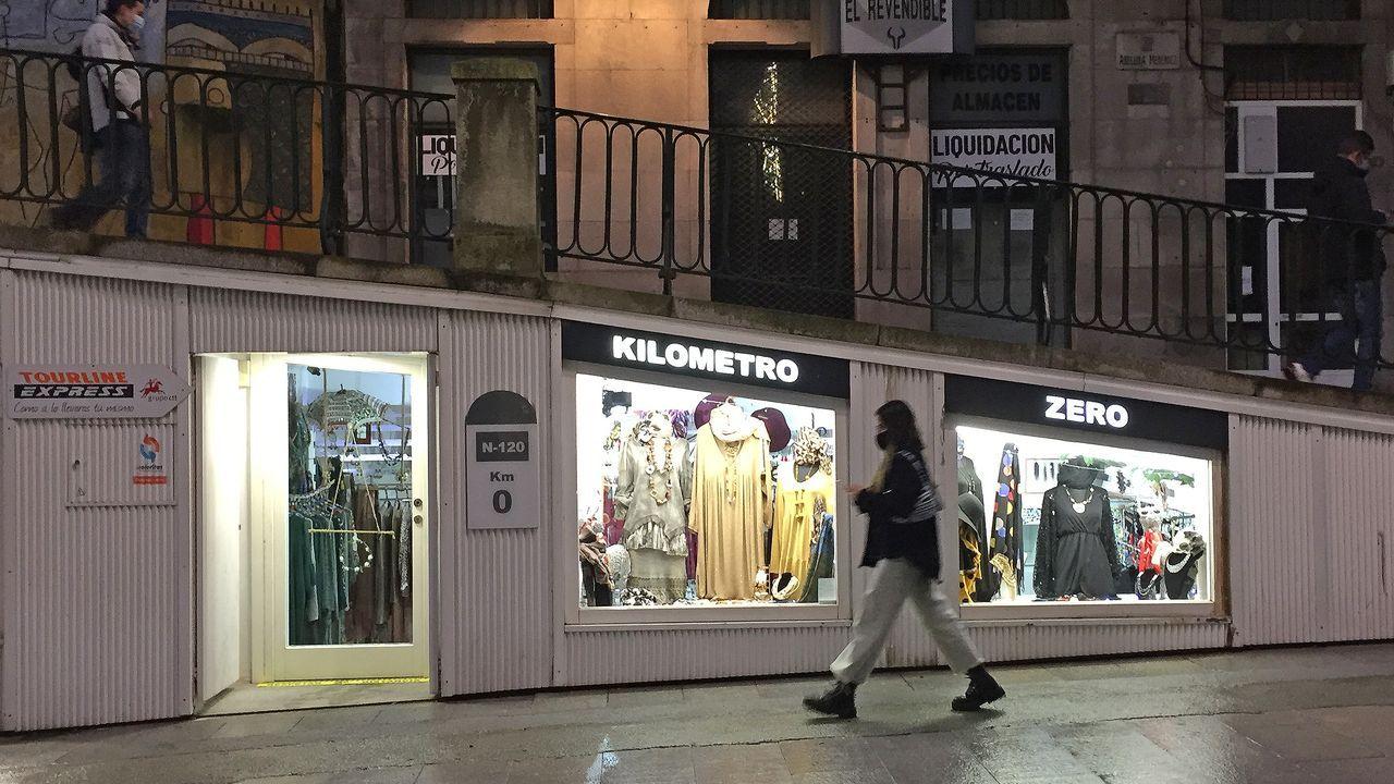 La cabalgata de Reyes en Vigo del 2019, antes de la pandemia