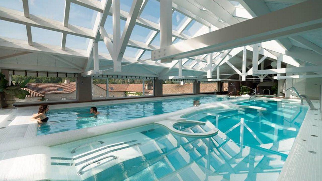 Spa del hotel Quinta da Auga, uno de los que participan en esta segunda edición de la tarjeta turística
