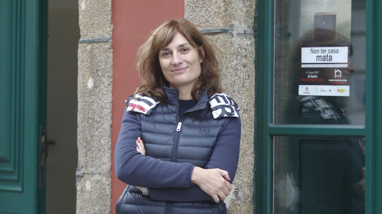 Marta Pazo, coordinadora general de Cáritas Diocesana en Mondoñedo-Ferrol