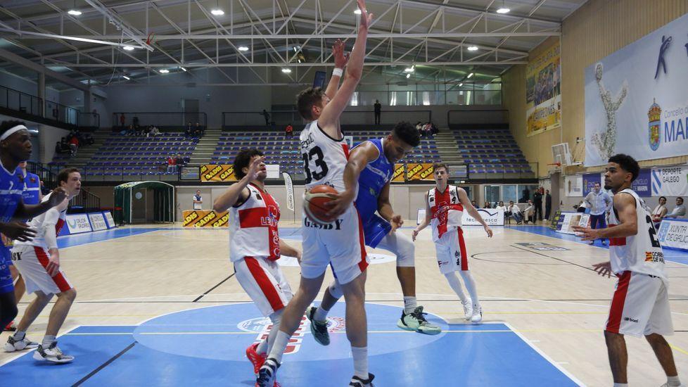 Las imágenes del baloncesto Peixe Galego - Huesca