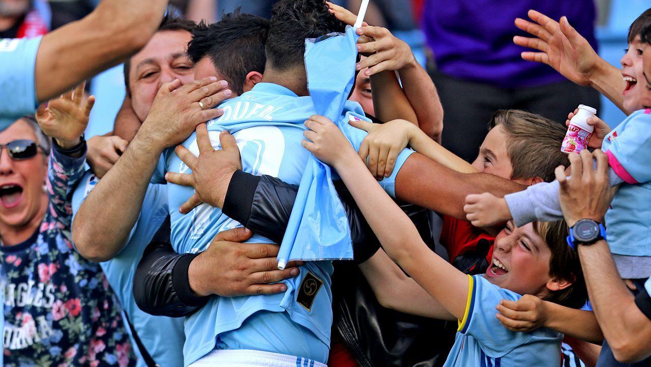 Las mejores imágenes del Celta - Girona