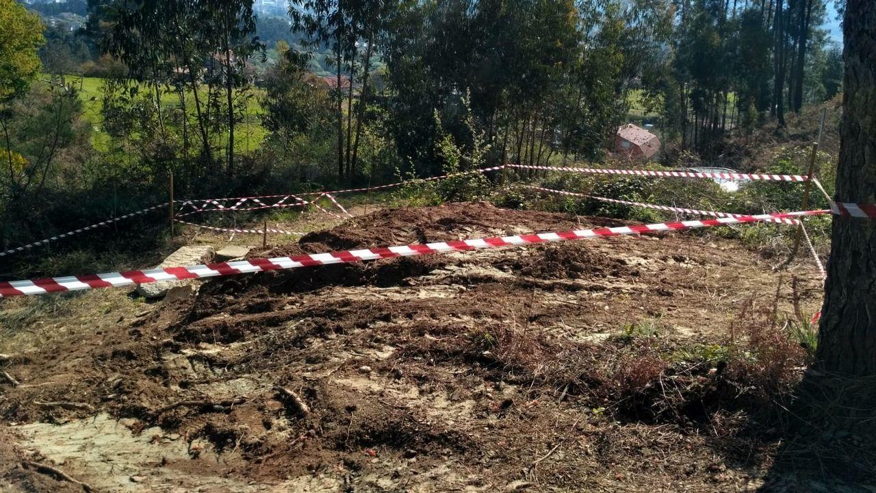 Cuatro albaneses detenidos en Nigrán y acusados de robos en domicilios.El accidente del tren Celta causó cuatro muertos y 47 heridos, 13 de ellos graves