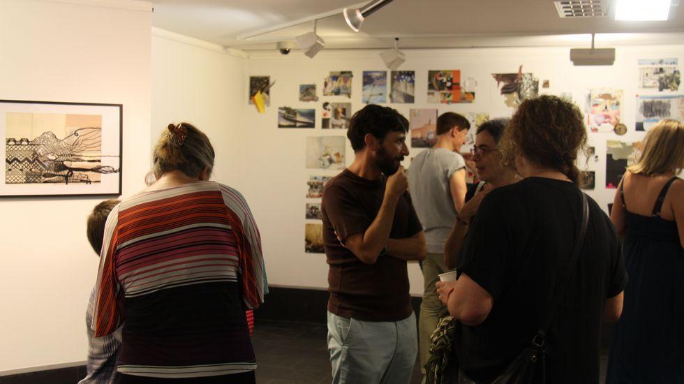 Festival enBarcarte. En la sala Abanca puede verse una exposición de varios artistas