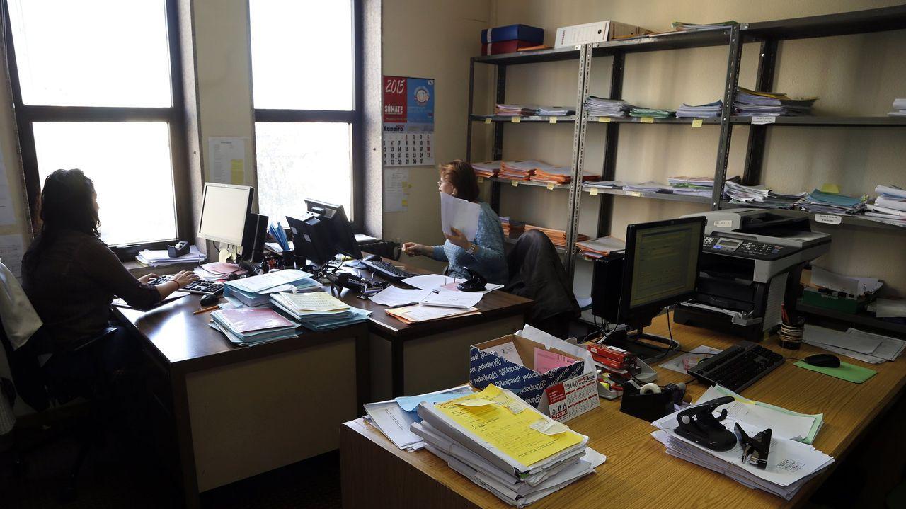 Foto de archivo de las oficinas de un juzgado de refuerzo de lo Social de Vigo