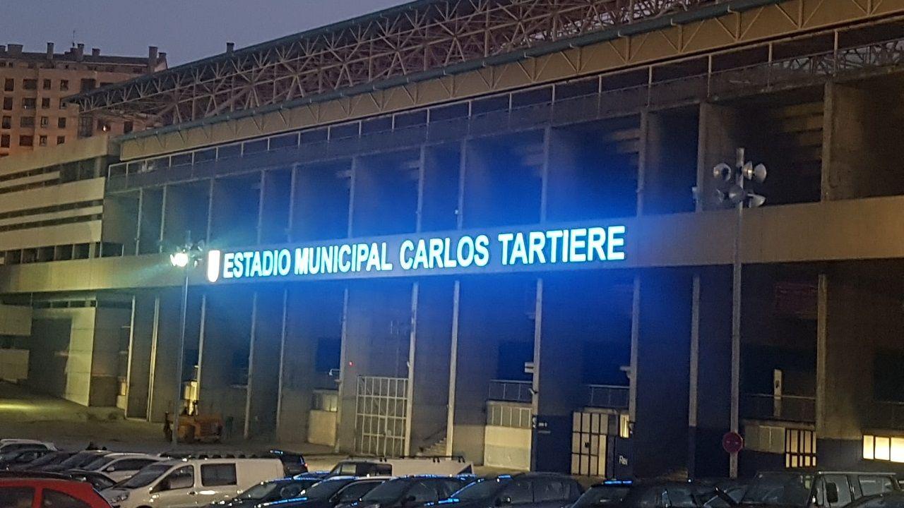 Aspecto del exterior del Carlos Tartiere