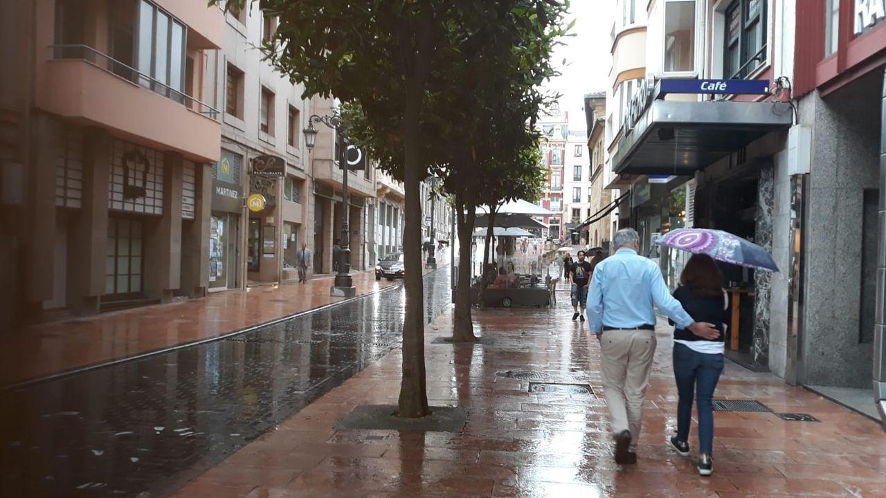 Oviedo en julio