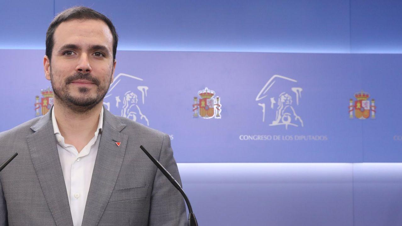 El «proponido» del ministro Alberto Garzón.Alberto Garzón, coordinador federal de Izquierda Unida