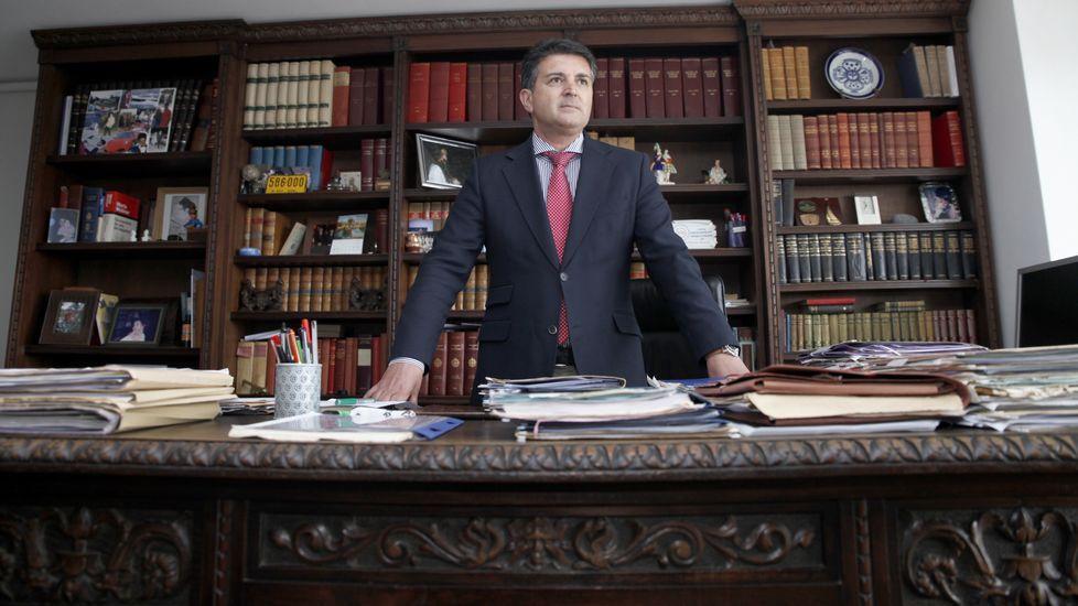 Julio Martínez Zahonero, delegado territorial de Jueces por la Democracia.Julio Martínez Zahonero, delegado territorial de Jueces por la Democracia
