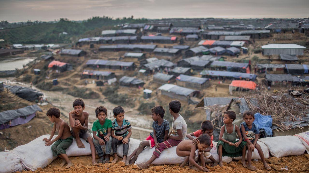 Las imágenes de la tragedia de Birmania.Unos 725.000 rohinyás permanecen como refugiados en la vecina Bangladesh desde el 2017