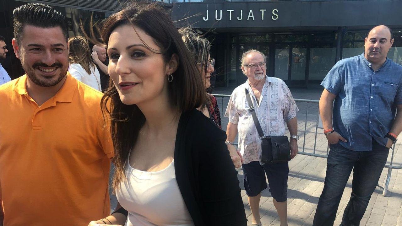 Lorena Roldán, líder de Ciudadanos en Cataluña