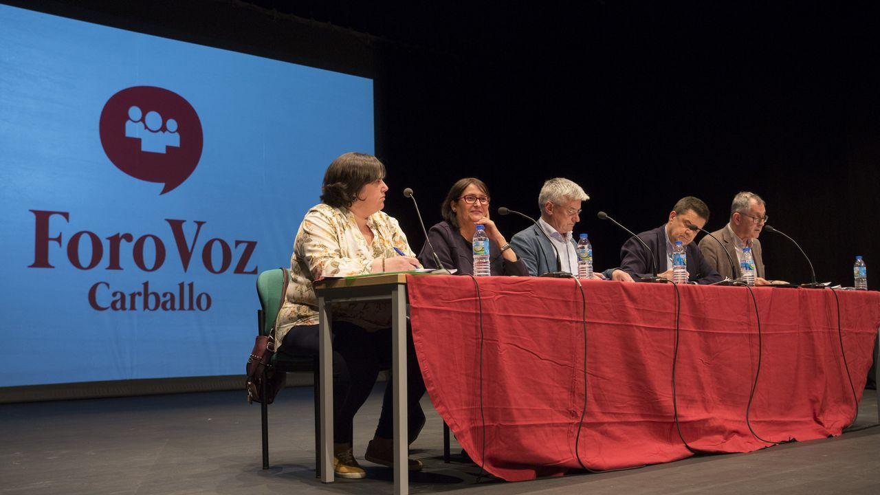 Así celebró el BNG de Carballo su nueva mayoría, ahora con 12 ediles: ¡álbum!.El alcalde de Carballo, Evencio Ferrero