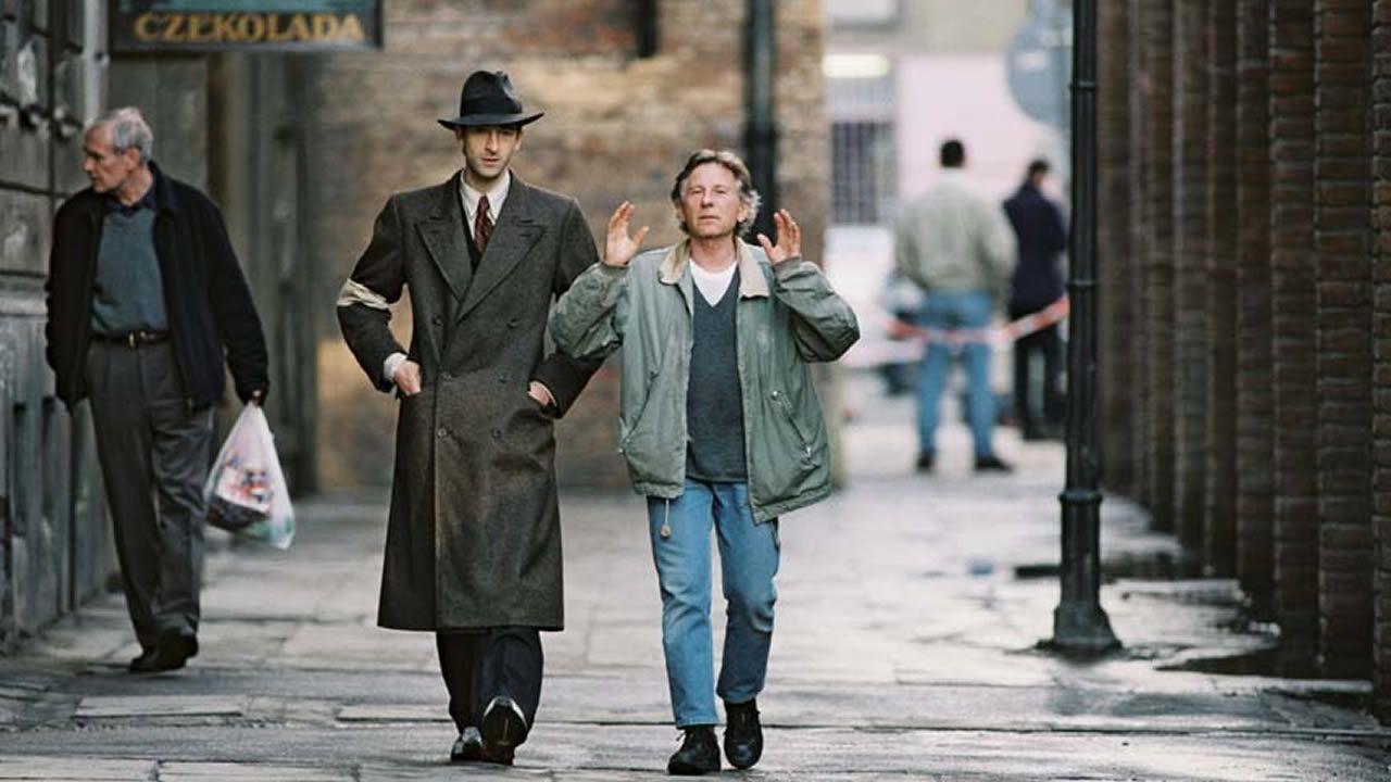 Polanski, durante la  grabación de su película «El pianista»