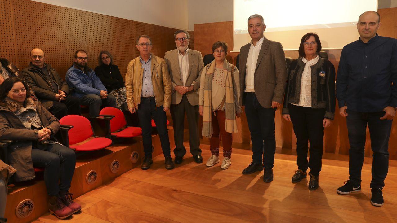 A nova versión do Corga foi presentada onte en Santiago