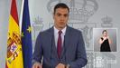 Sánchez comparece para anunciar los cambios en su Gobierno