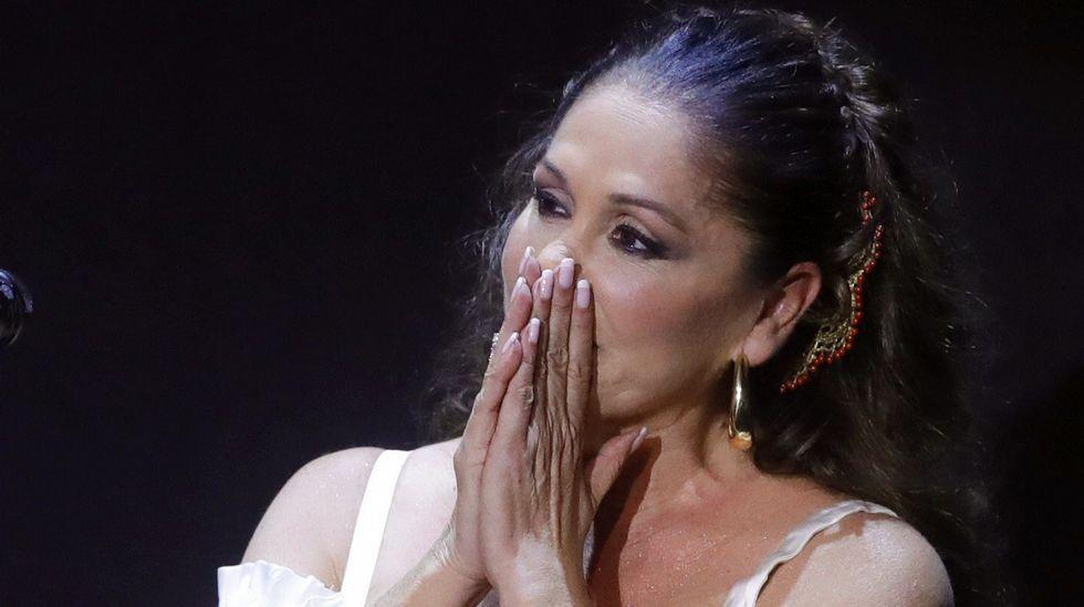 Isabel Pantoja reaparece en un concierto en Aranjuez