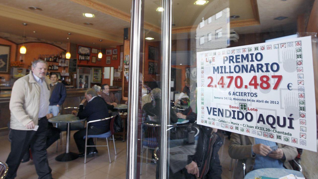 En la cafetería Manix ya se había vendido un premio de la Bonoloto dotado con más de dos millones de euros el 4 de abril del 2012, fecha de la data la imagen