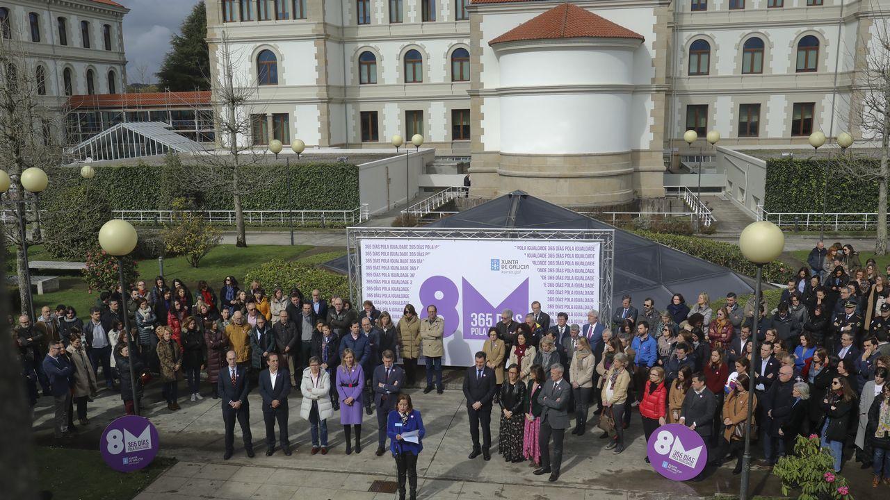 Acto institucional de la Xunta por el 8M