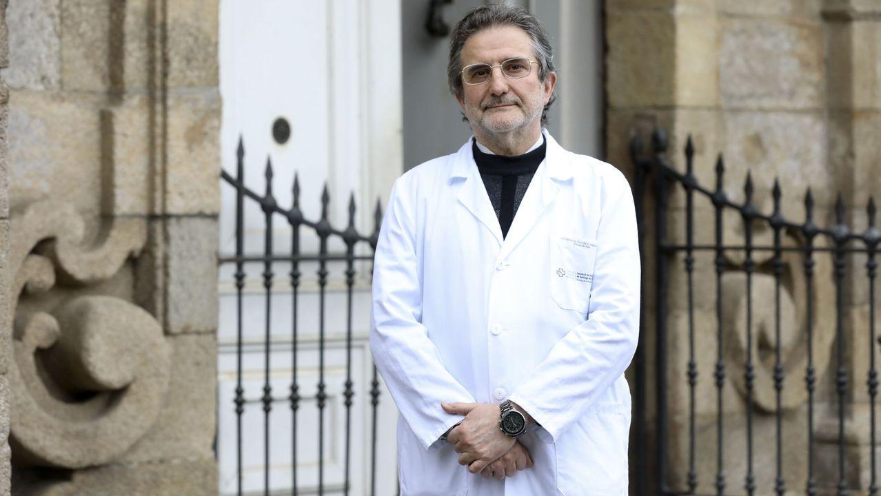 Raimundo Mateos en el hospital psiquiátrico de Conxo