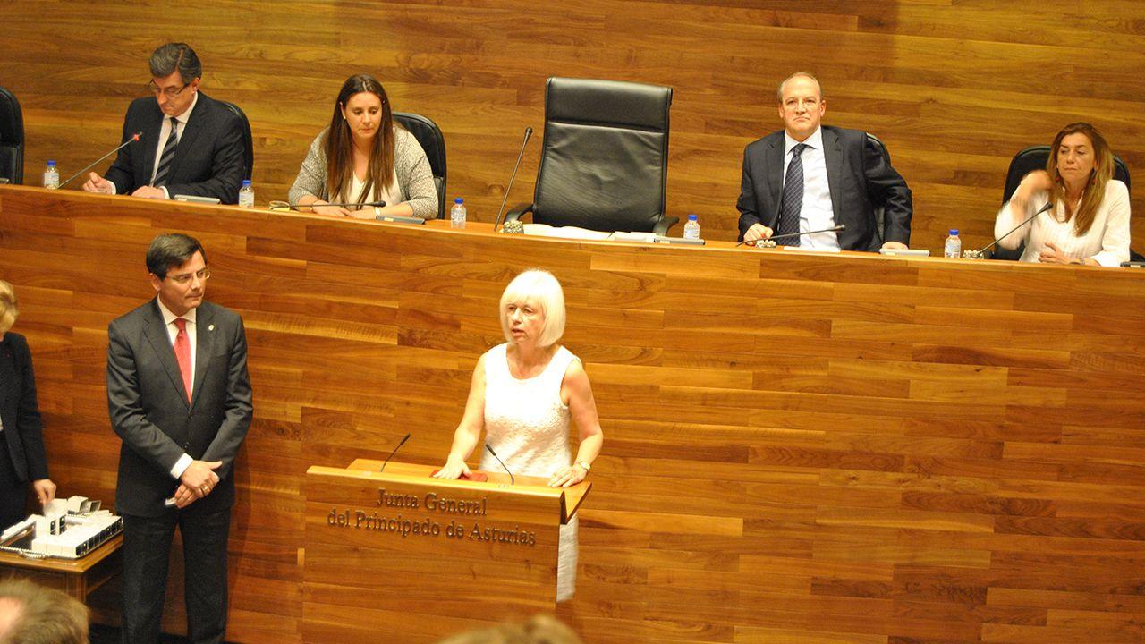 Concha Masa toma posesión como diputada en la Junta General