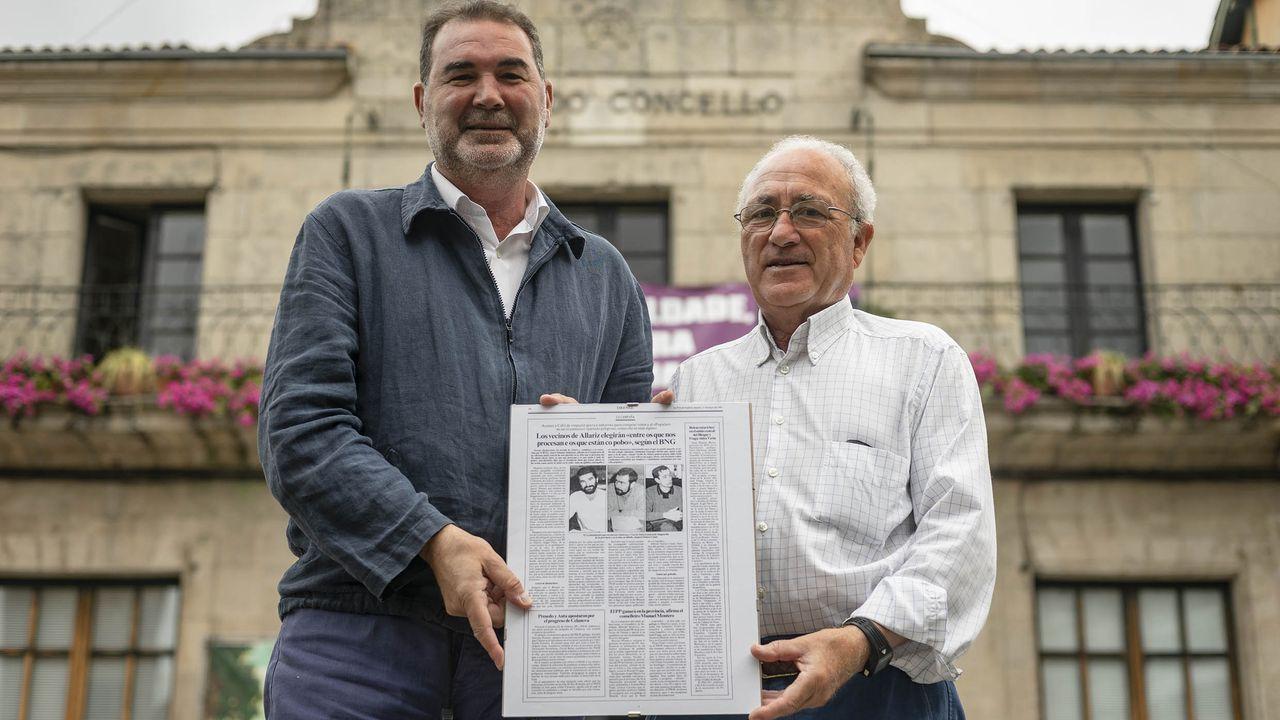 Así es Rafael Manuel Fernández Alonso, el ourensano que es candidato a la presidencia del Gobierno por el Partido Por Un Mundo Más Justo (PUM+J).ALFREDO BERMÚDEZ