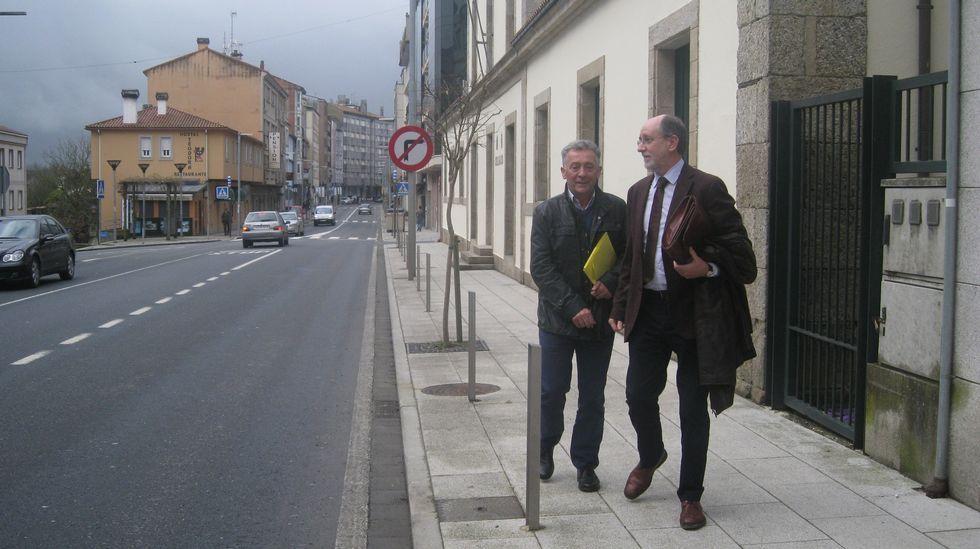 Vigilancia Aduanera registra las oficinas del servicio de Intervención Municipal del Concello de Pontevedra.El 16 de abril del 2014 Moldes entregó las instalaciones.