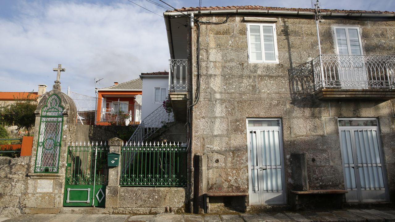 La casa familiar de Anceu, donde reside la familia