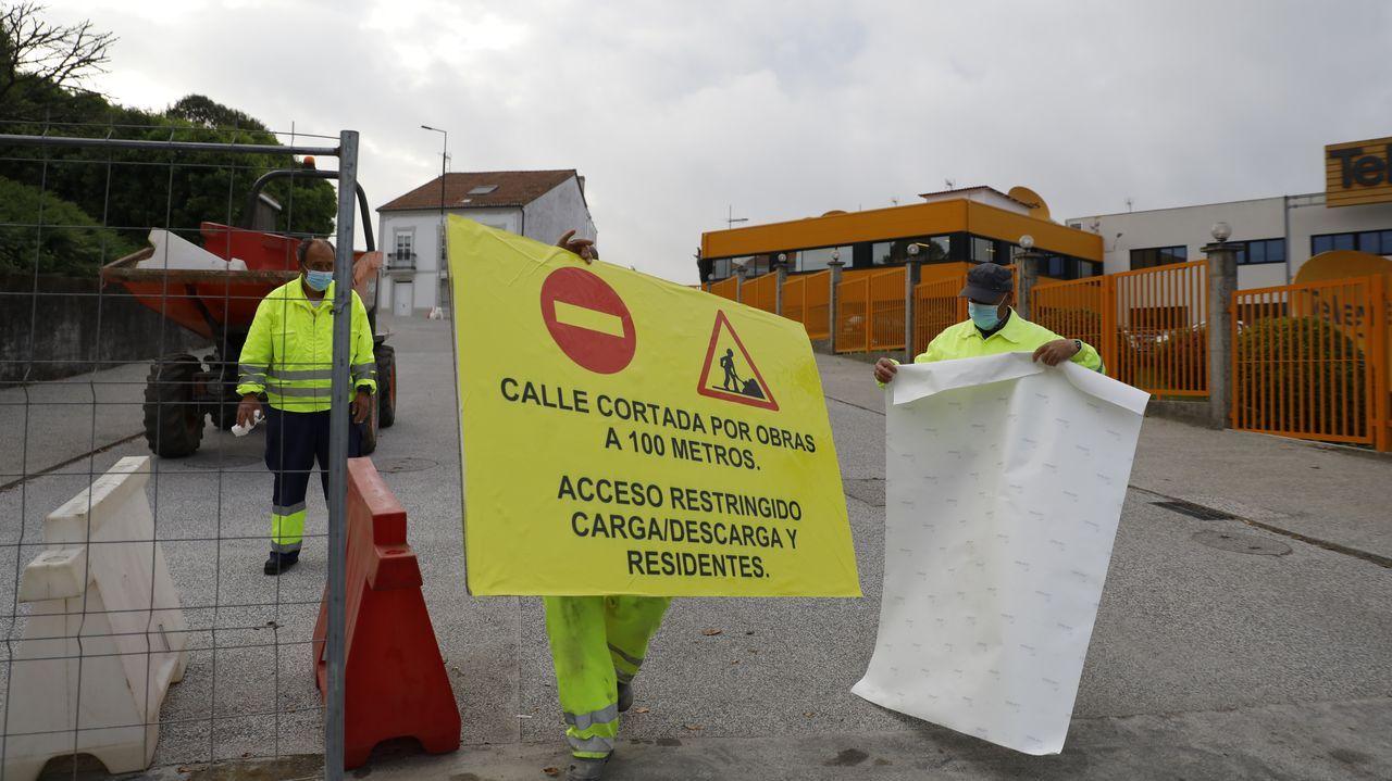 Presentación del proyecto «O Camiño contado», en el Concello de Pontevedra
