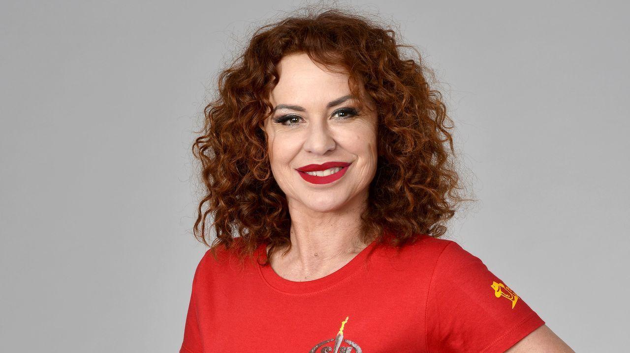 Vicky Larraz, cantante de Olé Olé
